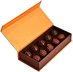 99StoreOnline Golden Choco Box Chocolates, 130 grams