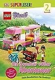 SUPERLESER! LEGO® Friends Ein Sommer voller Abenteuer: 2. Lesestufe Sach-Geschichten für Erstleser