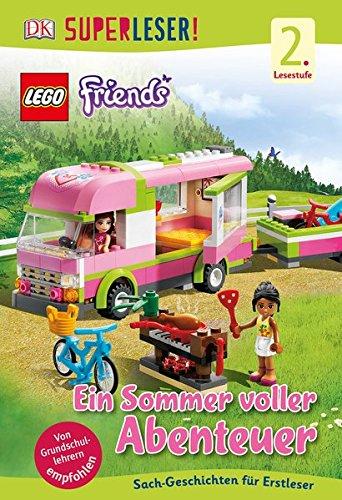 Preisvergleich Produktbild SUPERLESER! LEGO® Friends Ein Sommer voller Abenteuer: 2. Lesestufe Sach-Geschichten für Erstleser