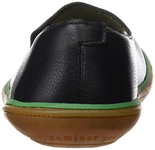 El Naturalista Ne08 Soft Grain Viajero, Sneakers Basses Mixte Adulte Noir (Black / Green)
