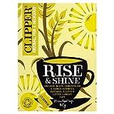 Clipper Rise & Shine Organic Mate, Lemongrass & Lemon Verbena Infusion Tea Bags 20 per pack (Case Of 4, Total 80 Tea Bags)