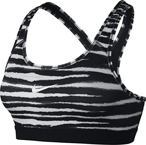 Nike, Reggiseno sportivo Donna, Colore Nero - nero/bianco, XS Nero - nero/bianco