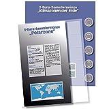 1 x SAFE 7360-6 Premium Ergänzungsblatt Münzblatt & Vordruckblatt Deutsche 5 Euromünzen Blauer Planet Erde Polare Zone 2021 Edition 2016 - 2021