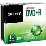 Sony 10DPR47SS - SONY 10 X 4.7GB DVD+R 16X REC SPEED