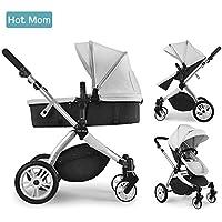 Hot Mom Multi cochecito cochecito 2 en 1 con buggy 2018 nuevo diseño, Asiento para bebé vendido por separado