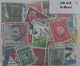 250Holland Briefmarken in Paket (ww016)