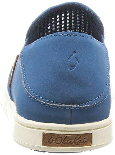 Olukai Woman Sneaker Pehuea Leather Clay Oceans / Oceans