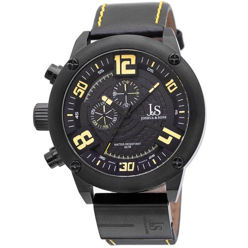 Joshua & Sons Uhr mit schweizer Quarzuhrwerk Man 50 mm