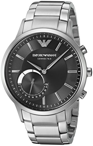 51TQxTI mhL - Emporio Armani ART3000 Mens Silver watch