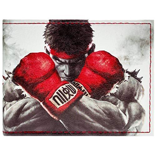 Capcom Street Fighter Ryu Ken Kampf Weiß Portemonnaie - Ryu Ken Kostüm