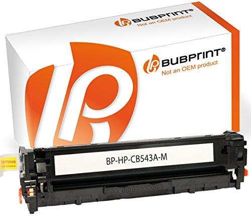 Preisvergleich Produktbild Bubprint Toner kompatibel für HP CB543A 125A für Color Laserjet cm 1300 1312 NFI MFP CP1200 CP1210 CP1215 CP1217 CP1510 CP1514N CP1515N Magenta