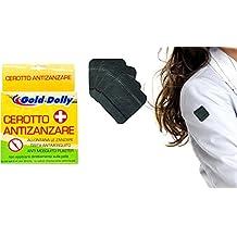 Pack de 20 parches que actúan como repelente anti-mosquito aplicar sobre la ropa