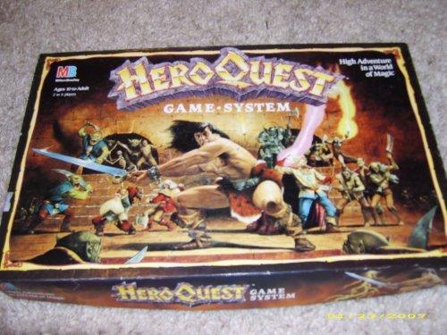 Preisvergleich Produktbild HeroQuest Game System by Milton Bradley