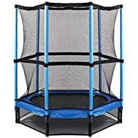 ‏‪Hedstrom Trampoline with Safety Enclosure, 4.6 FT - 1.4 M‬‏