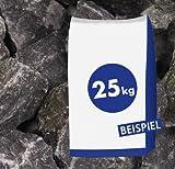 25kg Gabionen Steine Basaltbruch - Eifelschwarz Anthrazit Arau - 20-40mm - zur dekorativen Gartengestaltung