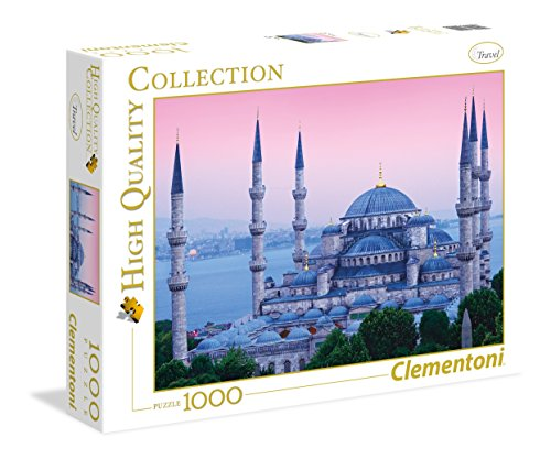 Clementoni 39291.9 - 1000 T Collection Istanbul, Klassische Puzzle