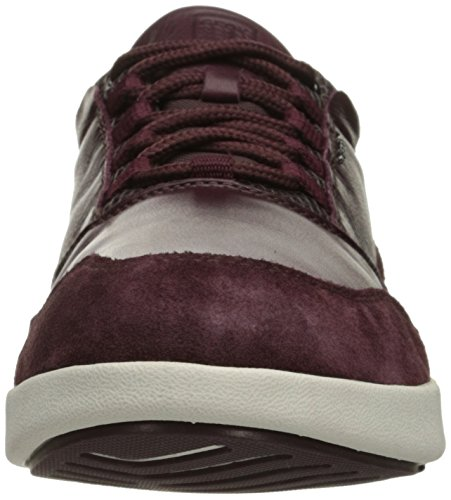 Geox U Ailand A, Baskets Basses Homme Rot (BURGUNDYC7016)