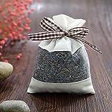 Beito Natürlicher Lavendel Dry Flower Taschen Brown-Schmetterling Knot- Natürlicher Duft Duft für Aromatherapie-Car Closet-Schubladen-Locker-Schuhschrank (1 Stück)