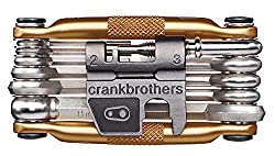 Crank Brothers Unisex- Erwachsene mutli17 Multitool, Gold, one Size