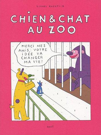 Chien & chat au zoo