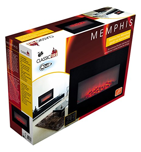 Edco Classic Fire 8711252536804 Wall Heater Memphis 80 cm