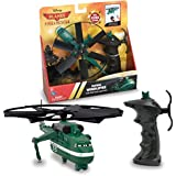 Thinkway Planes Fire and Rescue Windlifter Pull Cord Copter, Green/Black