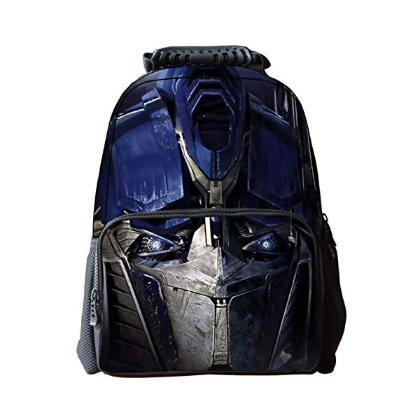 51TR49BYblL. SS600  - JIAN Mochila Infantil Transformers 3D Cartoon Anime Bag,Transformers(C)-42 * 18 * 29cm