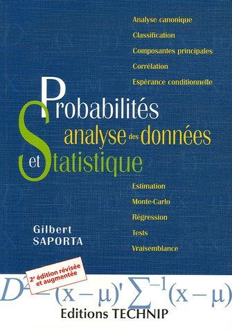 Probabilités, analyses des données et statistiques