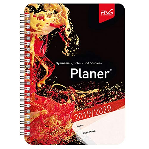 Gymnasial-, Schul- und Studienplaner 2019/2020 - rotes Cover