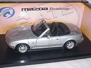 Auto Art Mazda Mx5 Mx-5 Na 1990 Argent Gate 1/18 Voiture Modèle Auto Art Voiture Modèle