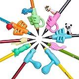 Impugnatura matita per bambini | gommini in silicone per impugnatura matite | supporto ergonomico per la correzione della postura per scrivere o disegnare