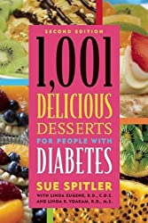 1,001 Delicious Desserts for People with Diabetes by Sue Spitler (2008-05-28)