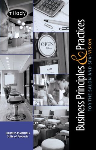 Business Practices and Principles for the Salon and Spa Printed Access Card: Vision Module -