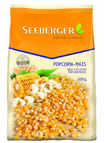 Seeberger Popcorn-Mais, 10er Pack (10x 500 g Packung) Test