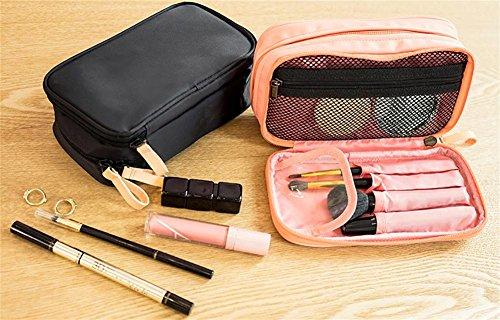 BANISH Kosmetiktasche Nylon Tuch Doppelreißverschluss Reise Waschen Speicherpaket 1