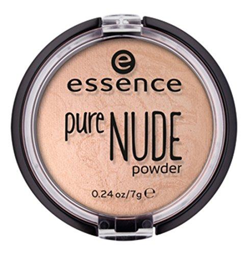 ESSENCE Pure Nude Powder colore: 10Nude Ivory Contenuto: 7G geba ckener Cipria per un aspetto naturale leuchtendes e Soft.