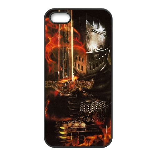 Dark Souls coque iPhone 4 4S Housse téléphone Noir de couverture de cas coque EBDXJKNBO15403