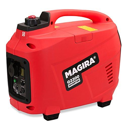 MAGIRA 2200W Inverter Stromerzeuger 230V benzinbetriebenen | 4 Takt Generator Notstromaggregat Stromaggregat 2,2 Kw
