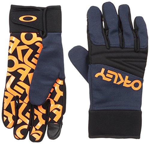 Oakley Herren Factory Park Gloves, Fathom, L (Oakley Glove Snow)