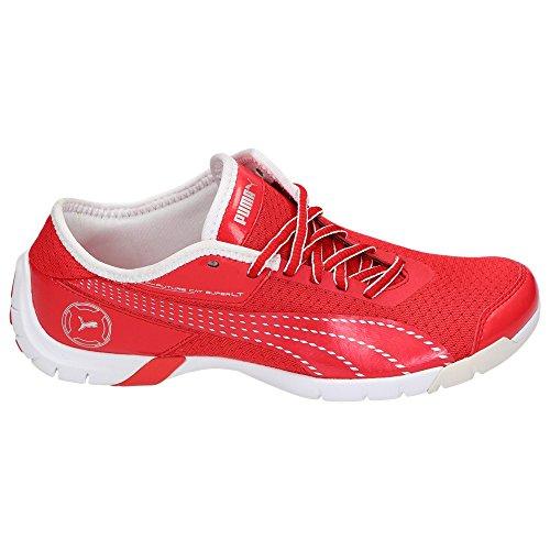 Puma Future Cat SuperLT Unisex Damen Herren Fitness Sport Schuhe Turnschuhe Sneaker Laufschuhe Rot
