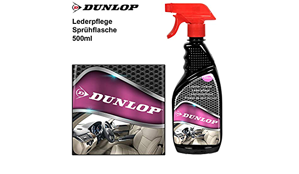 Dunlop Lederpflege 500ml Leder Reiniger Lederreiniger Autopflege Leathercleaner Auto