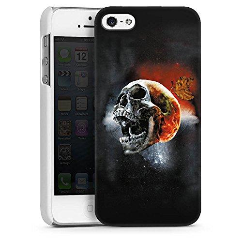 Apple iPhone 4 Housse Étui Silicone Coque Protection Tête de mort Tête Cri CasDur blanc