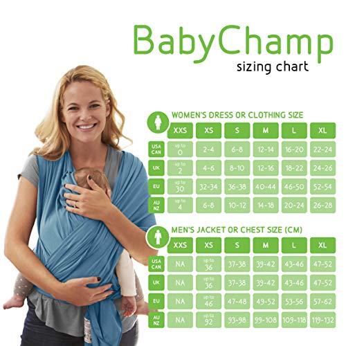 Babytragetuch für Neugeborene BabyChamp 2017 - 4