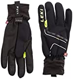 LEKI Handschuhe Nordic Thermo, Black-Yellow, 7, 63285333