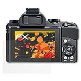 atFoliX Schutzfolie für Olympus Stylus 1/1s Displayschutzfolie - 3 x FX-Antireflex blendfreie Folie