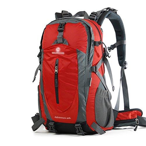 HWLXBB Outdoor Bergsteigen Tasche Schultertasche Männer und Frauen Walking Outdoor Multifunktions Reisetasche Outdoor Rucksack 40L / 50L Rucksack E