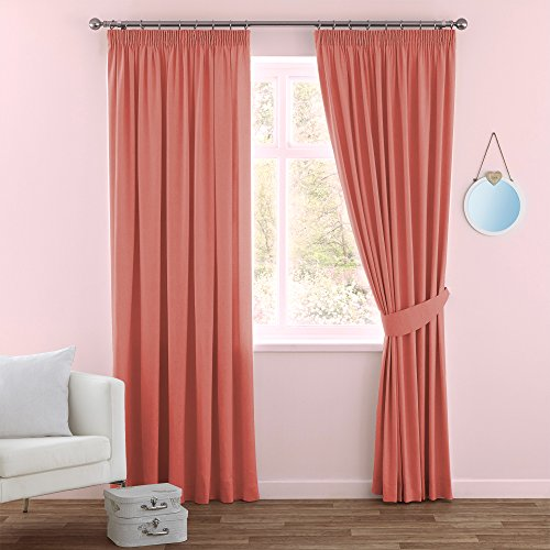 Kitchen Curtains Amazon Co Uk: Coral Curtains: Amazon.co.uk