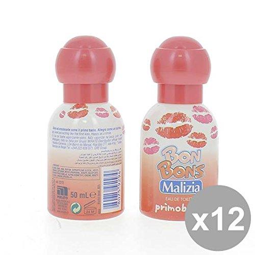 Set 12 MALIZIA Eau de Toilette Donna 50 Bonbons Primobacio Profumi per il corpo