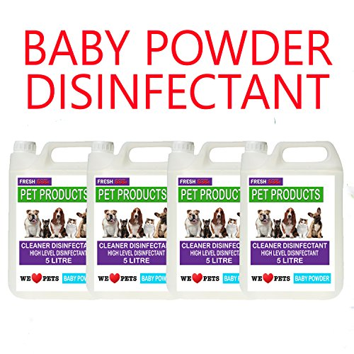 4-x-5-litres-baby-powder-fragrance-pet-kennel-disinfectant-deodoriser