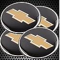 4x Auto Felgendeckel Nabenkappen Emblem Badge Chevrolet Logo 60mm für alle Fahrzeug
